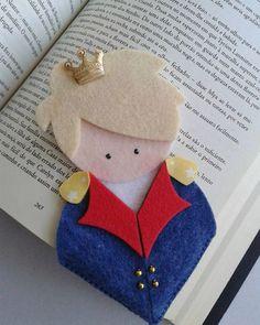 Felt Crafts Diy, Felt Diy, Crafts For Kids, Little Prince Party, The Little Prince, Diy Bookmarks, Crochet Bookmarks, Felt Bookmark, Book Markers