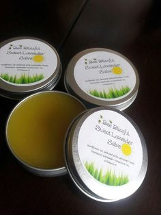 HEALING SALVE Sweet Lavender Wonderfully by BeeBlissfulBeauty, $6.99
