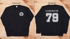 Supernatural Shirt Winchester 79 supernatural sweatshirt