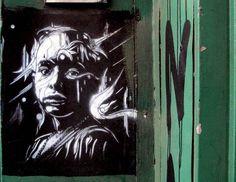 C215 stencil street art Bushwick Bushwick's Stylish Streets, Part Il: C215, ECB, NDA, OverUnder & ROA