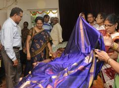 Handloom weaves at half the cost! APCO puts up month-long exhibition at Cooperative Employees NGO's Home. People should not think twice to splurge on handloom weaves as it will not only encourage the fading traditional art but also enhance the livelihood of the weavers.