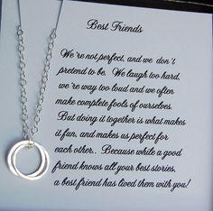 Best Friends Necklace,