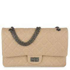 Chanel Reissue Beige Jumbo Flap Bag - Prefall 2012 - 5300