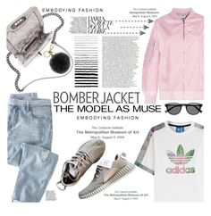 """Bomber"" by cynthia6 ❤ liked on Polyvore featuring Wrap, adidas Originals, Rebecca Minkoff, Michael Kors, women's clothing, women, female, woman, misses and juniors"