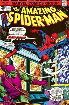 THE AMAZING SPIDER-MAN #137  MARVEL COMICS GROUP  OCTOBER 1974  $.25