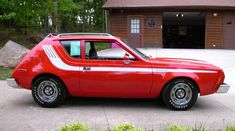 AMC. The American Motors Company.  George W. Romney, Mitt's dad, focused the company on small cars, introducing the Rambler. In 1987, the last AMC product, the Eagle, sputtered out.