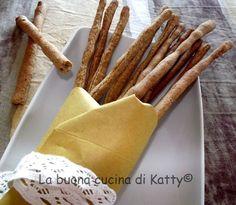 La buona cucina di Katty: Grissini di grano saraceno