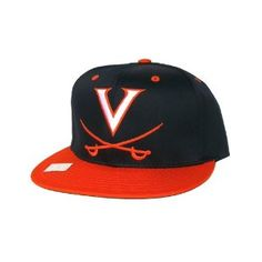 University Of Virginia Cavaliers Retro Snapback Hat - NCAA Cap - 2 Tone  Navy Orange ab0c0a1be863