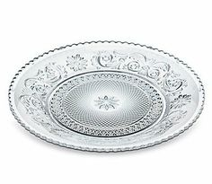 Baccarat Dinner Plate . $285.00. Handcrafted full-lead crystal made in France. Hand wash.
