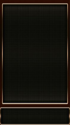 Black with Gold Trim Wallpaper