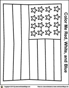 Image Result For Easy Draw Flag American Kindergarten School