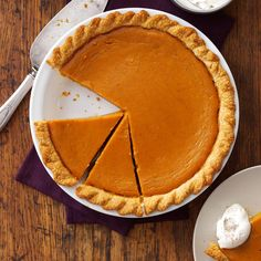 Maple Sugar Pumpkin Pie Recipe -We make our own maple syrup, and that's what gives this pie its special taste. You might want to bake this for your Thanksgiving meal. —Martha Boudah, Essex Center, Vermont