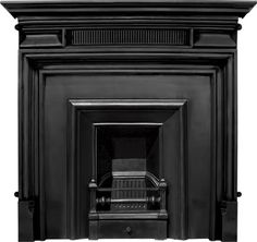 Royal Black Finish Cast Iron Fire Insert And Surround,royal,belgrave,Iron,cast,,carron,fire,surround,buy,sell,stock,for sale,fireplaces,anti...