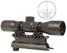 UAG Tactical SKS 4x30 mm Mil Dot Rangefinder Reticle Rifle Hunting Sniper Scope with See Thru Lens Caps + Steel SKS 7.62x39 Rifle See Through Receiver Cover Replacement High Profile Tactical Scope Weaver Picatinny Rail Mount Complete With Rings by Ultimate Arms Gear. $44.95
