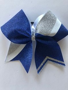 - Free Shipping 2 Sizes /& 6 Colors to Choose from Size: 7, Color: Blue 12 Glitter Bow Ties-