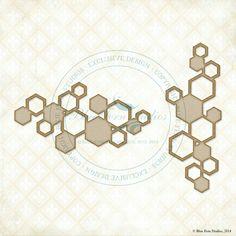 Blue Fern Studios Hexagon Bits