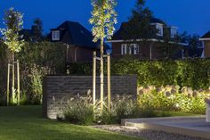 The EVO HYDE indirect line-lighting can be installed under stairs, duckboards, railings and (sitting) walls. Tree Lighting, Outdoor Lighting, Under Stairs, Diffused Light, Downlights, Hyde, Evo, Outdoor Structures, Landscape