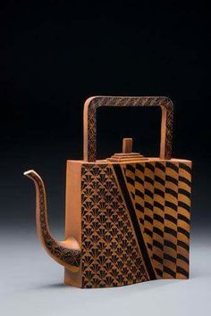 Judy Weeden - this is a very fashionable teapot