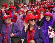 Image source: http://www.pensionerspages.co.uk/2015_02_01_archive.html - Red Hat Society women