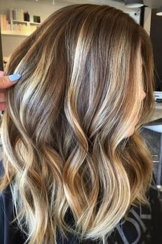 Could but Id prefer thinner blonde highlights like baby lights
