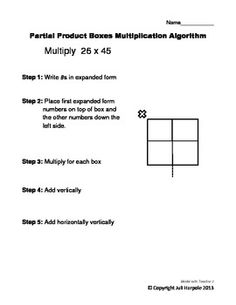 Using Arrays To Teach Partial Product Multiplication Nbt