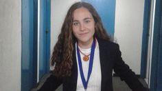 Una estudiante sevillana en el medallero de la Olimpiada Iberoamericana de Biología