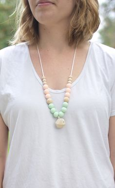 """The """"Summer"""" Teething Necklace"""