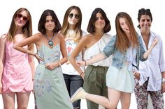 Today on Man Repeller we've got 2 girls 10 looks