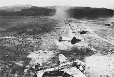 Battle of Hollandia - Initial operations commenced in the second week of March 1944 with air raids by the Fast Carrier Force on Palau and islands in the Carolines, while aircraft of the US 5th Air Force and the RAAF attacked Japanese airfields along the New Guinea coast from Wewak to the Vogelkop and on Biak Island. On 30 March and continuing to 3 April these air forces attacked Hollandia itself and the airfields on the Sentani plain.