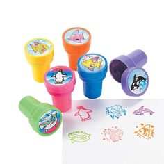 Colorful+Ocean+Life+Stampers+-+OrientalTrading.com $7.00 24 Piece(s)