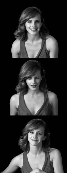 Emma Watson's screen tests Hermione Granger, Emma Watson Smile, Beautiful Actresses, Video Link, Hair Flip, Star Wars, Screen Test, Emo Hairstyles, My Emma