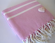 Handwoven Turkish Bath Towel Traditional Peshtemal by TheAnatolian, $28.00
