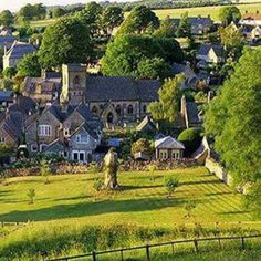 the Cotswolds, England. This location was mentioned in the movie The Holiday. I love this movie and would to see what this little town is like!