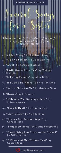 """Missing someone special? Listen to our Ultimate Playlist of """"I miss you"""" songs today to remember them by. Broken Heart Songs, Mending A Broken Heart, Missing You Songs, Missing Someone Special, Funeral Music, Ain't No Sunshine, The Band Perry, Losing Someone, Unique Words"""