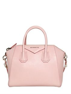 GIVENCHY Small Antigona Grained Leather Bag