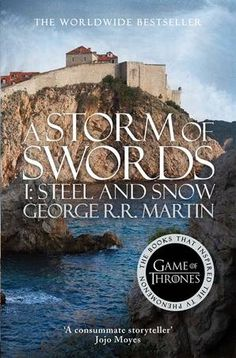 A STORM OF SWORDS: STEEL AND SNOW is the first part of the third volume in the series.Throughout Westeros, the war for the Iron Throne rages more fiercely than ever, but if the Wall is breached, no king will live to claim it.