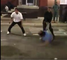 Two Men Knocked out Cold in large Fight in Downtown Detroit [Video]
