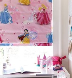 For the little Princess in your life – a blind to complete her royal residence. 10 ways to brighten up a children's room with made to measure blinds