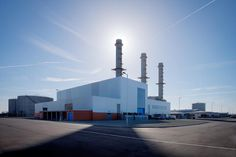 Architectural photography  | Isle of Grain Power Station