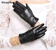 Tag a friend who would love this!|    Amazing arriving Harppihop real leather glove warm winter women gloves Genuine Leather Black leather gloves female leather gloves winter G1006 now on discount sales $US $15.80 with free postage  yow will discover that product as well as even more at our eshop      Get it today right here >> https://tshirtandjeans.store/products/harppihop-real-leather-glove-warm-winter-women-gloves-genuine-leather-black-leather-gloves-female-leather-gloves-winter-g1006…