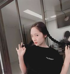 Image uploaded by tomatoro. Find images and videos about fashion, hair and beauty on We Heart It - the app to get lost in what you love. Krystal Fx, Jessica & Krystal, Jessica Jung, Krystal Jung Fashion, Role Player, Sulli, Blackpink Jisoo, Her Smile, Kpop Girls