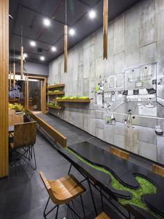 Aja Quick Service Restaurant by Arch.Lab, Chandigarh – India » Retail Design Blog