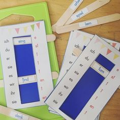 The verb table is intended to enable students to conjugate . - Art Education, History Science, Music Education and Language Art Ways Of Learning, Kids Learning, Learning Italian, Early Intervention Program, Languages Online, Cycle 2, German Language Learning, Learn German, Learn French