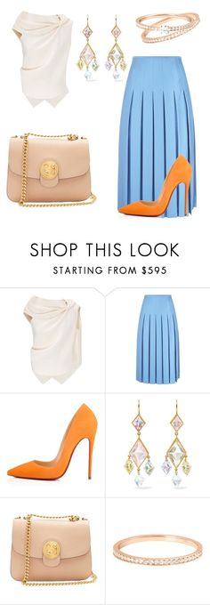 """""""Untitled #132"""" by froso-ziakou on Polyvore featuring Roland Mouret, Victoria Beckham, Christian Louboutin, Marie Hélène de Taillac, Chloé and VANRYCKE"""