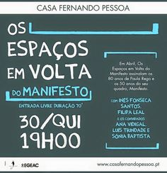 ana vidigal: MANIFESTOS