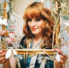 Florence Welch, of Florence + the Machine