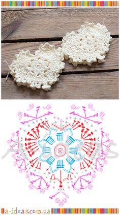 crochet heart FREE pattern                                                                                                                                                                                 More