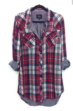 Stitch Fix - Cute Plaid tunic top. Stitch fix inspiration. Try stitch fix :) personal styling… Stitch Fit, Stitch Fix Fall, Stitch Fix Outfits, Looks Style, Style Me, Plaid Tunic, Plaid Shirts, Flannels, Plaid Flannel