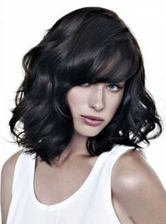 The layered hairstyle is a favorite among women with medium haircuts, and is in fact one of the most popular hairstyles of both the professional woman and the housewife. Description from newhairst.blogspot.com. I searched for this on bing.com/images
