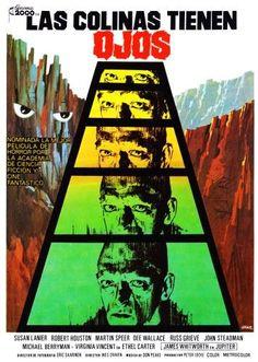 The Hills Have Eyes (Aka Las Colinas Tienen Ojos) Spanish Poster Michael Berryman 1977 Movie Poster Masterprint (24 x 36)
